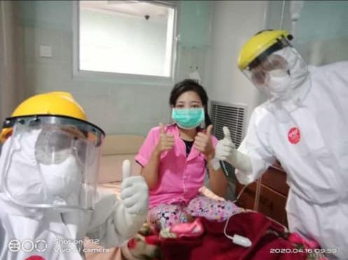Pasien positif Covid 19 Warga Pekon Giri Tunggal Kecamatan Pagelaran Utara