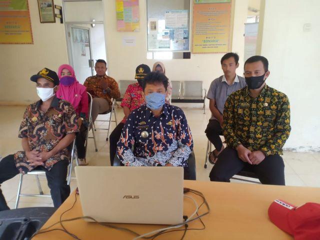 Mengikuti Kegiatan Webinar YKWS Pengelolaan Sanitasi Aman di Kabupaten Pringsewu