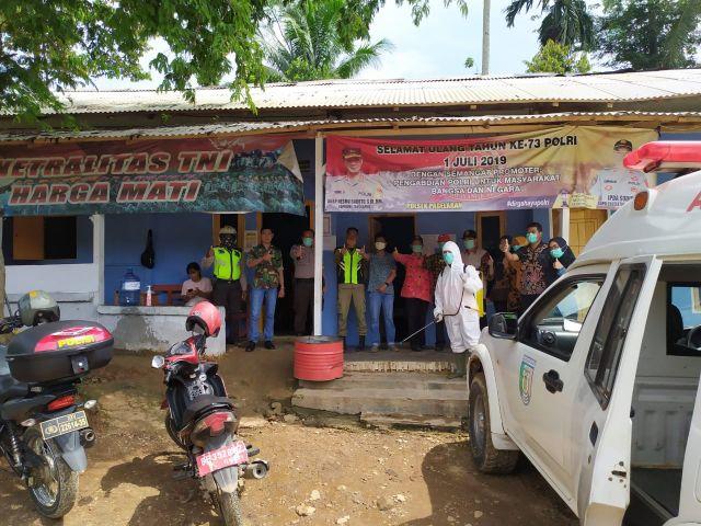 Pemantauan dan Sosialisasi Pencegahan DBD dan Virus Corona di Pekon Sumber Bandung dan Neglasari