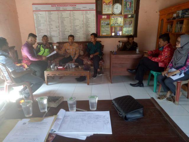 Monev DD Tahap I di Pekon Sumber Bandung dan Madaraya